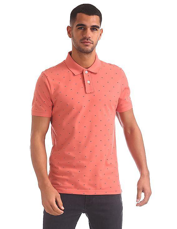 3b5b78fd1 Buy Men AE1003879869 Spiced Coral Mens T-Shirt online at NNNOW.com