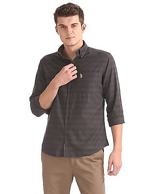 U.S. Polo Assn. Regular Fit Striped Shirt