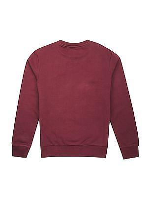 FM Boys Boys Printed Slim Fit Sweatshirt