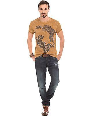 Ed Hardy Washed Regular Fit T-Shirt