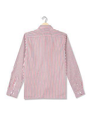 Excalibur Striped Weave Cotton Shirt