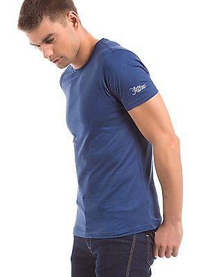 Flying Machine Regular Fit Round Neck T-Shirt