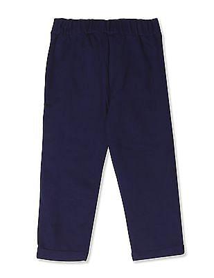 Colt Blue Girls Minnie Mouse Knit Track Pants
