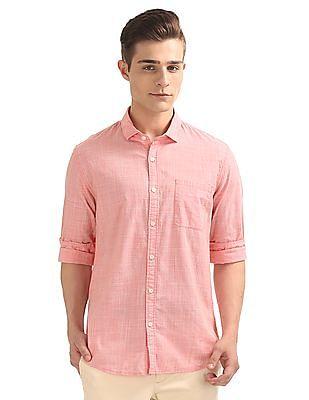 Ruggers Patterned Regular Fit Shirt