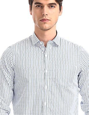 Excalibur White Check Shirt - Pack Of 2