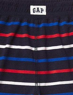 GAP Boys Black Stripe PJ Shorts