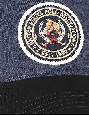 U.S. Polo Assn. Appliqued Baseball Cap