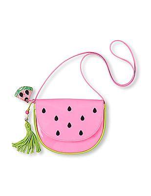 The Children's Place Girls Pink Watermelon Purse