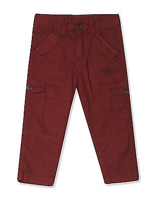 Donuts Boys Panelled Cotton Cargos