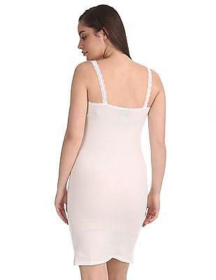 Unlimited Lace Trim Longline Camisole
