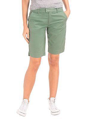GAP Stretch Twill Bermuda Shorts