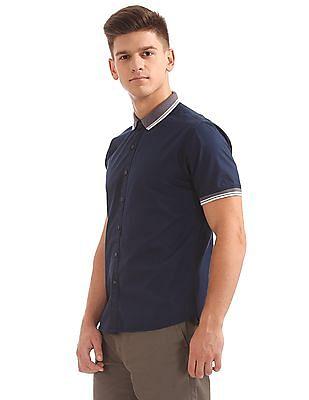 Colt Regular Fit Ribbed Collar Shirt