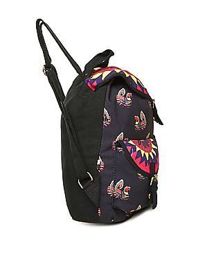 Bronz Printed Canvas Backpack