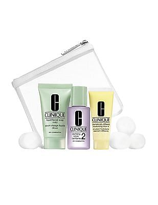 CLINIQUE 3 Step Skin Care System Type 2 - Dry And Combination Skin