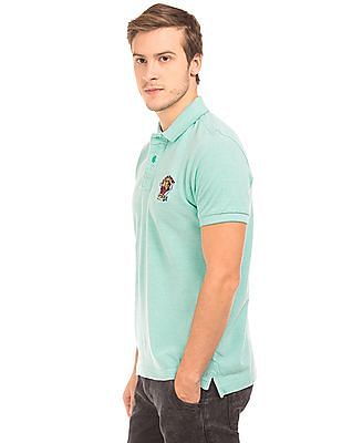 Ed Hardy Regular Fit Pique Polo Shirt