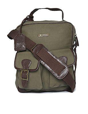 U.S. Polo Assn. Canvas Messenger Bag