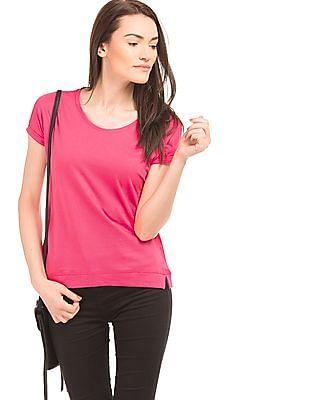 Newport Round Neck Cotton T-Shirt