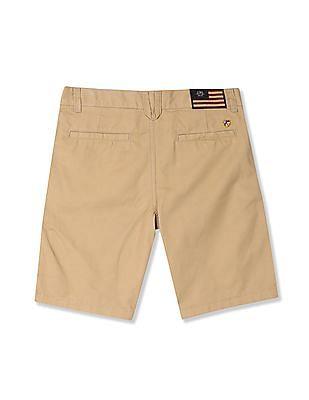 U.S. Polo Assn. Kids Boys Flat Front Twill Shorts
