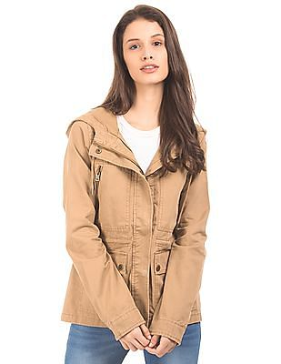 Aeropostale Hooded Parka Jacket