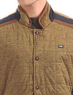 Arrow Sports Zip Up Padded Jacket