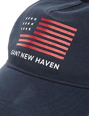 Gant Panelled Printed Baseball Cap