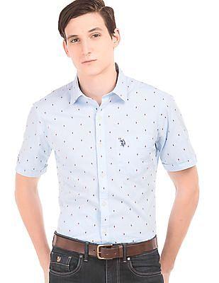 U.S. Polo Assn. Dobby Weave Regular Fit Shirt