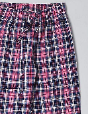 GAP Boys Red Plaid Flannel PJ Pants