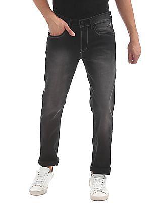 Flying Machine Slim Fit Stone Wash Jeans
