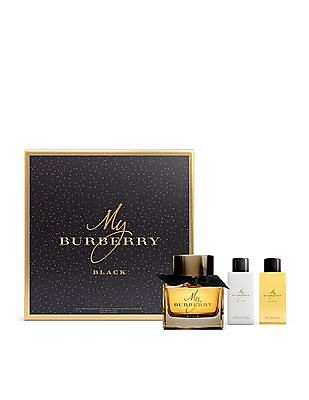 Buy Women My Burberry Black Eau De Parfum Spray Bathing Gel