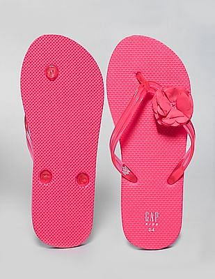 GAP Girls Flower Flip Flops