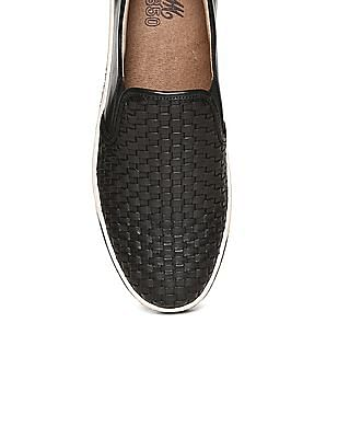 Johnston & Murphy Calfskin Leather Slip On Shoes