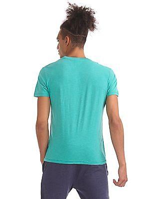 Aeropostale Slub Knit Crew Neck T-Shirt