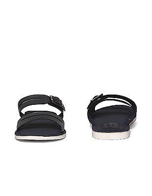 Arrow Dual Strap Buckle Sandals