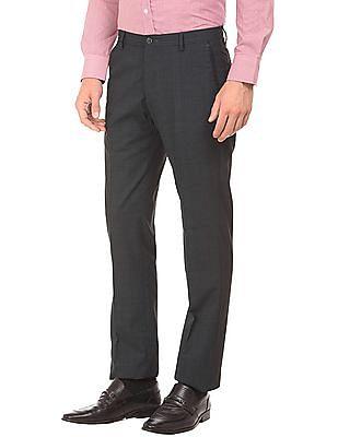 Arrow Newyork Printed Slim Fit Trousers