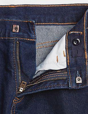 GAP Boys Superdenim Straight Jeans With Fantastiflex