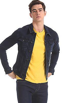 U.S. Polo Assn. Denim Co. Blue Washed Denim Jacket