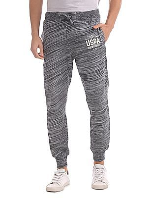 U.S. Polo Assn. Denim Co. Regular Fit Patterned Knit Joggers