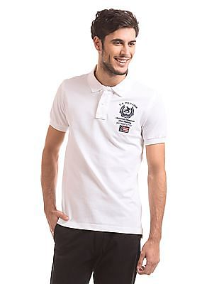 U.S. Polo Assn. Embroidered Slim Fit Polo Shirt