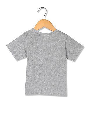 Colt Boys Appliqued Cotton T-Shirt