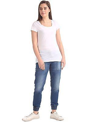 U.S. Polo Assn. Women Stone Wash Jogger Jeans
