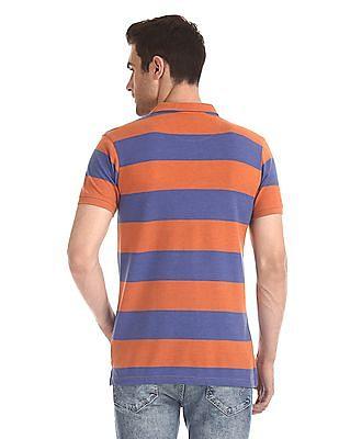 Ruggers Bar Stripe Pique Polo Shirt