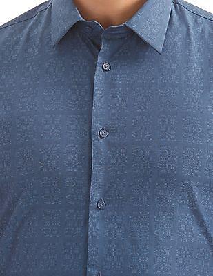 Arrow Newyork Patterned Slim Fit Shirt