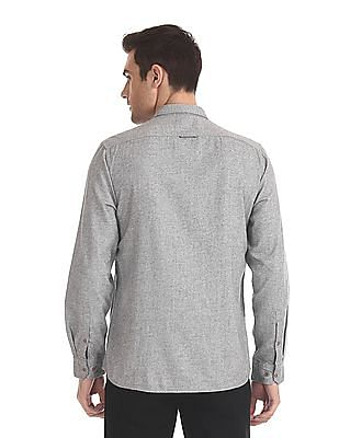 Cherokee Contemporary Regular Fit Solid Shirt