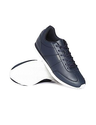 Flying Machine Panelled Low Top Sneakers