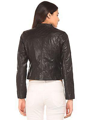Elle Quilted Biker Jacket