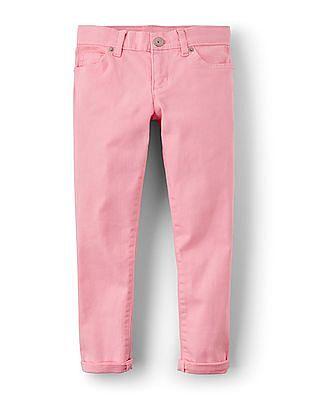 The Childrens Place Girls Color Denim Pants