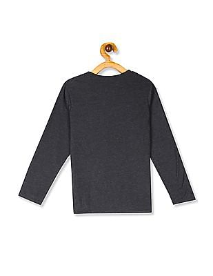 The Children's Place Grey Boys Graphic Print Long Sleeve T-Shirt