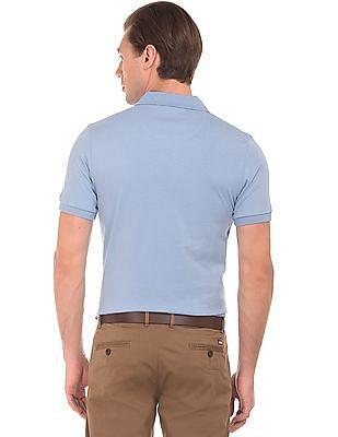 Arrow Sports Geometric Printed Polo Shirt