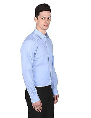 Arrow Solid Regular Fit Shirt