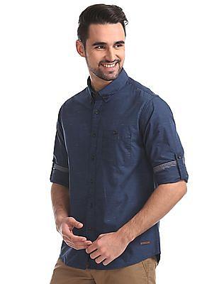 Cherokee Regular Fit Button Down Shirt